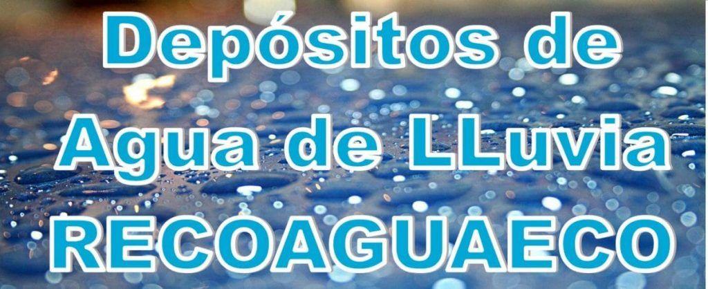 recoaguaeco Depositos de agua de lluvia Barcelona