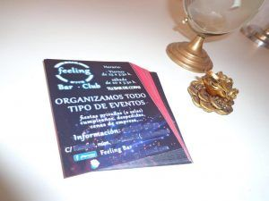 hacer flyers on line
