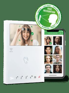 Reconocimiento facial videoporteros comelit